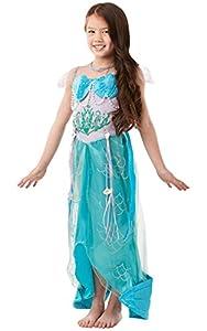 GIRLS Blue Mermaid Princess Fancy Dress Costume 5-7 Yrs (disfraz)