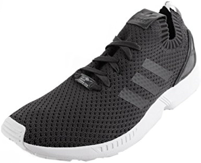 adidas ZX Flux PK Primeknit Solid Grey Black