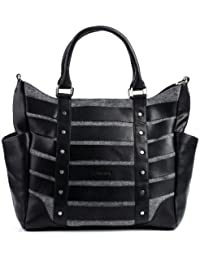 FEYNSINN cabas SARAH - XL - sac portés épaule - sac des dames en cuir véritable