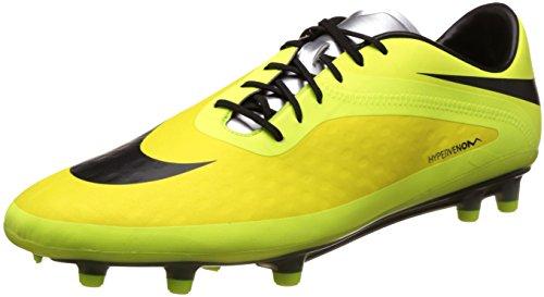 Nike 599075-031, Herren Fußballschuhe, (Vibrant Yellow-Black-metallic Silver-Volt) - Größe: 8 - Größe Für Schuhe Nike 8 Kinder,