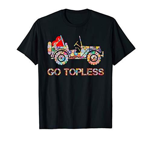 Jeep-Mädchenkleidungsgeschenk Jeepsy gehen schulterfreies T-Shirt