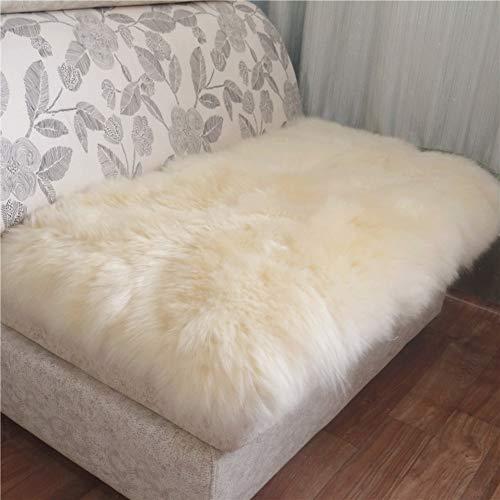 QYN Faux Fur Plush Alfombra Cojín del Asiento