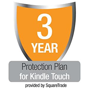 3-Year SquareTrade Warranty + Accident Protection & Theft Cover for Kindle Touch, UK customers only