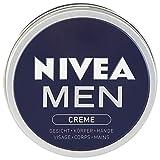 Nivea Men, Crema Per Gli Uomini, Confezione da 4 x 150ml