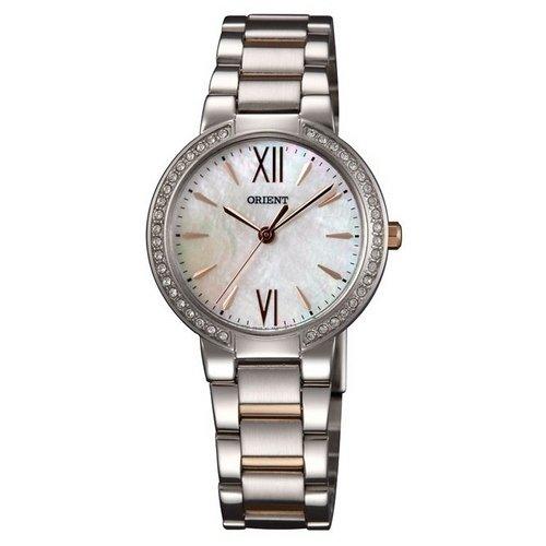 Reloj Orient Fashion Qc0m002w Mujer Nácar