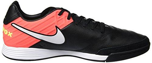 ... Nike 819222-018 Herren Hallenfußballschuhe Schwarz (Black/White-Hyper  Orange-Volt