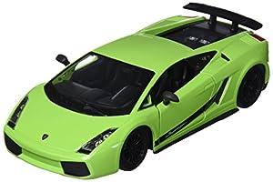 Bburago- Lamborghini Gallardo Coche de Juguete, Color Verde (18-22108G)