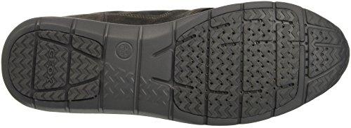 Geox U Gektor B Abx D, Sneakers Hautes Homme Schwarz (BLACK/MUDC9355)