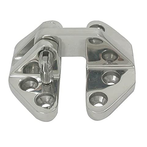 Dutyhook 71X33 Hatch Hinge, Standard, Stainless Steel AISI 316