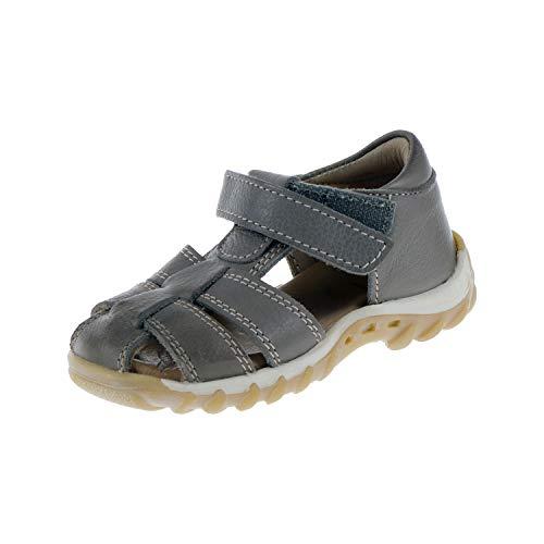 Bisgaard Kinderschuhe Sandale Kindersandale Grau Grey Unisex Klettverschluss 204943D (20 EU)