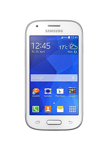 Samsung Galaxy Ace Style Smartphone (10,1 cm (3,9 Zoll) TFT-Display, 1,2GHz, Dual-Core, 5 Megapixel Kamera, Android 4.4) - Weiße (Samsung Galaxy Ace Display)