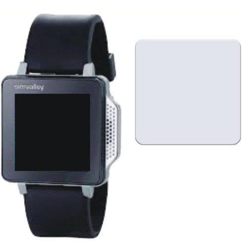 4 x Handy Uhr Simvalley Mobile PW-315 Touch Entspiegelnde Bildschirmschutzfolie Displayschutzfolie von 4ProTec - Nahezu blendfreie Antireflexfolie