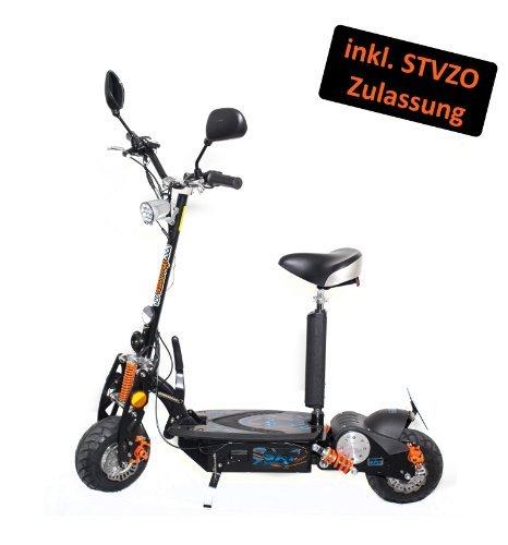 SXT500 EEC Scooter électrique 25 km/hauteur avec Street legal 500 Watt 36V SXT Scooter