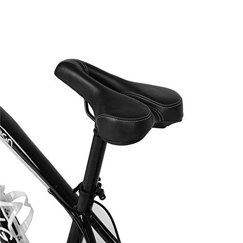 Dioche Sillín de Bicicleta, Asiento Cómodo de la Bici Cojín de Asiento de la Cubierta Ciclismo para ATV y Bicicletas de Carretera