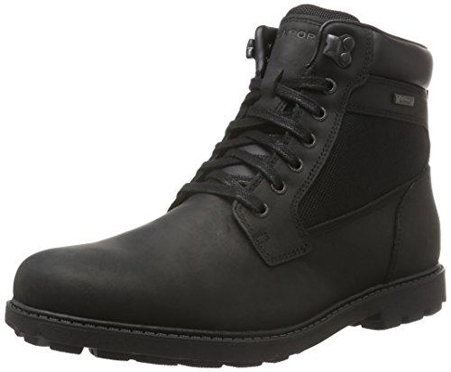 rockport-herren-rugged-bucks-wp-high-boot-kurzschaft-stiefel-schwarz-black-41-eu
