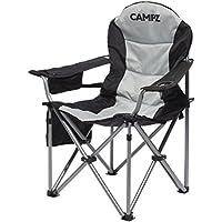 CAMPZ Deluxe Arm Chair schwarz 2018 Campingstuhl