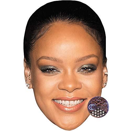 Celebrity Cutouts Rihanna (Smile) Big Head
