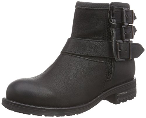 Apple of Eden Feliz, Bottes Motardes femme Noir (Black)