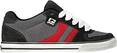 Globe Encore 2 Shoes - Black / Charcoal / Red - UK 10.5