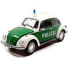 Solido S1800504 1974 Volkswagen Beetle 1303 policía Alemana Juguete de Modelo, ...