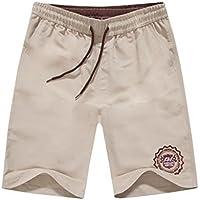 Pantalones de secado rápido Hombres Casual Boardshorts Holiday Loose Beach Shorts Viajes