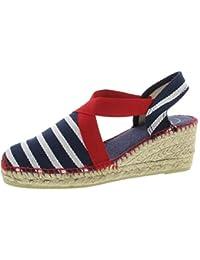 52c71aa8b339b2 Suchergebnis auf Amazon.de für  Blau-Weiß-Rot - Sandalen   Damen ...