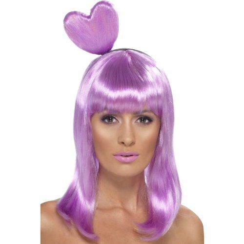 Süßigkeiten Königin Perücke Katy Perry Herz California Gurls Mädchen Video- Pop Womens