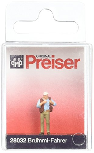 TRUCKER - PREISER HO SCALE MODEL TRAIN FIGURES 28032 by Preiser