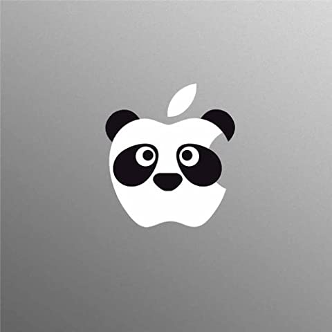 Supertogether Panda MacBook Decal Sticker - Fits 13 15 17 inch Apple MacBook / Pro / Air