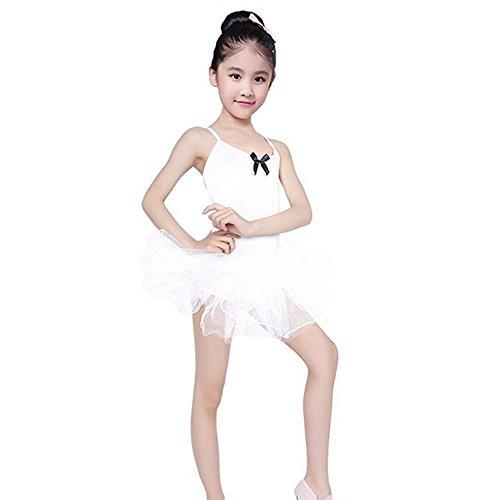 DIASTR Baby Mädchen Sommerkleidung Kinderärmellose Kleid Kleinkind Swing Mädchen Ballettröckchen Tüll Party Tanz Ballett Kinder Einfarbig Kostüm (Mollige Katze Kostüm)