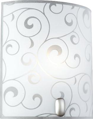Wandleuchte Spiegelleuchte Lampe Beleuchtung Badezimmer Metall Glas Globo 40401-1 Bike von globo auf Lampenhans.de