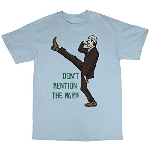 Basil Fawlty T-Shirt 100% Baumwolle Hellblau