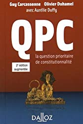 QPC - 2e éd. la question prioritaire de constitutionnalité