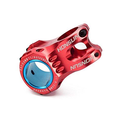 Fahrräder Vorbauten Ultraleichte Short Vorbau Ahead MTB Mountainbikes Rennräder Radsport Fahrradteile Aluminiumlegierung von Sue Supply, Schwarz/Rot/Blau/Silber