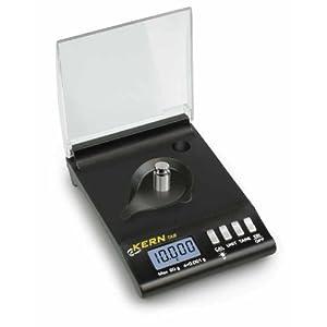 Hochpräzise Taschenkaratwaage [Kern TAB 20-3] für Juweliere und Reisende, Wägebereich [Max]: 20 g, Ablesbarkeit [d]: 0,001 g