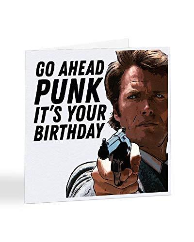 Go Ahead Punk It's Your Birthday - Clint Eatswood - A5309 - als Einzelkarte oder als 5er-Packung erhältlich, Einzelbett