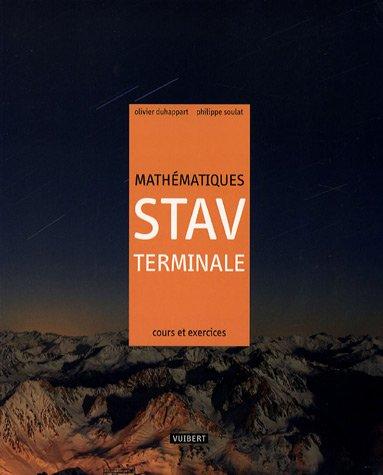 Mathmatiques STAV Terminale : cours et exercises