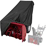 MOGOI Snow Thrower Cover, Snow Blower Covers Heavy Duty Polyester,Waterproof,UV Protection Universal Size All-Season Cover for Most Electric Two Stage Snow Blowers with Carry Bag