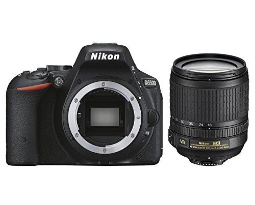 Galleria fotografica Nikon D5500 + Nikkor 18-105 VR Fotocamera Reflex Digitale, 24,2 Megapixel, LCD Touchscreen Regolabile, Wi-Fi Incorporato, SD 8GB 200x Premium Lexar, Nero [Nital card: 4 anni di garanzia]