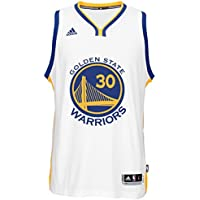 Stephen Curry Golden State Warriors Adidas NBA Swingman Jersey Maglia -  White 06d8e837ac62