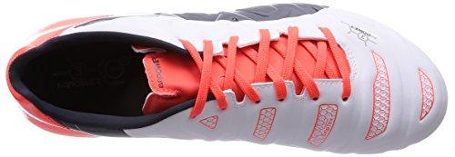 Puma Evopower 3.2 Ag, Chaussures de Football homme Blanc (white-total Eclipse-lava Blast 05)