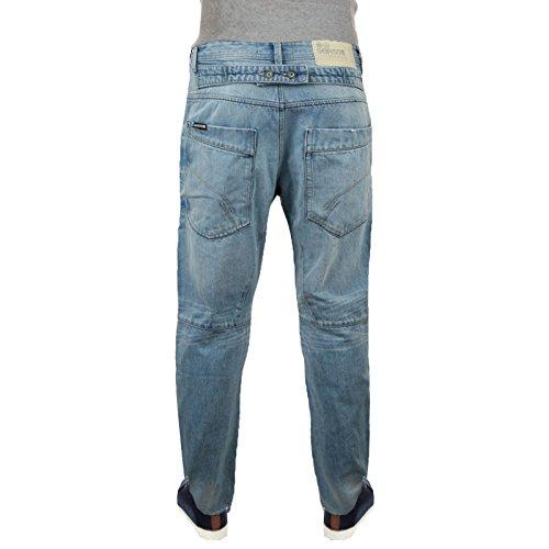 Crosshatch Dango Délavé Clair Jeans Hommes Jeans Délavé clair