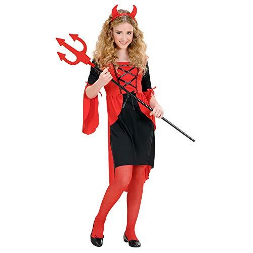 WIDMANN Kinderkostüm Teufelin (Engel Kostüm Teenager Mädchen)