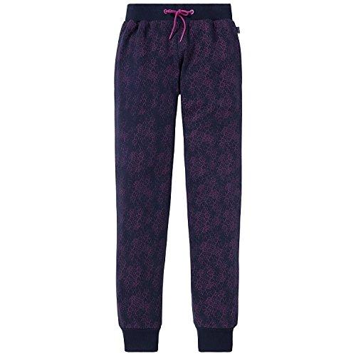Schiesser Mädchen Schlafanzughose Mix&Relax Jersey Pants, Blau (Nachtblau 804), 176