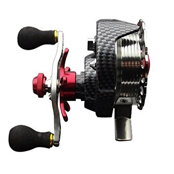 TOOGOO(R) Left hand front end raft fly fishing reel Micro-round lead raft fishing reel for Fishing reel from TOOGOO(R)