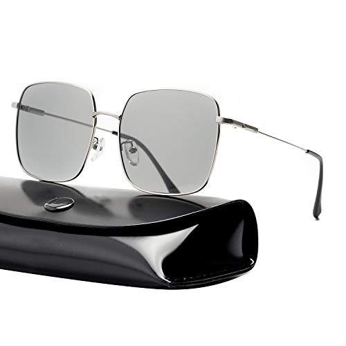 rezi Sonnenbrille Polarisierte Sonnenbrille Pilotenbrille mit Vintage-Stil und Mode-Stil, 4 Stile, UV400 Schutz, für damen und herren