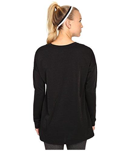 detailed look 65a17 91667 ... Nike Signal Ls Tee T-Shirt femme Negro   Blanco (Black Black