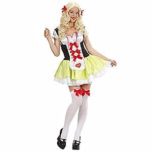 WIDMANN Widman - Disfraz de chica de Baviera para mujer, talla S (S/76241)