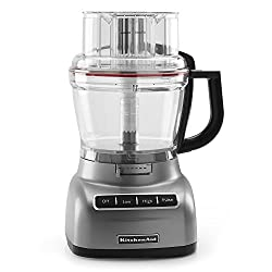 KitchenAid KFP1330CU 13-Cup Food Processor with Exact Slice System - Contour Silver
