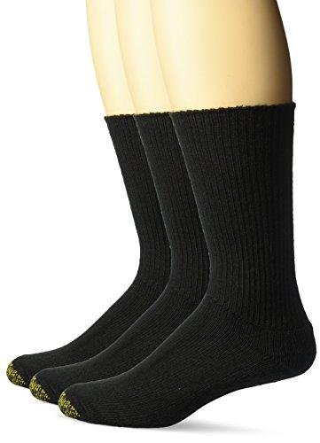 Gold Toe Herren Socken, Einfarbig Gr. Einheitsgröße, schwarz (Gold Toe Cotton Herren Socken)